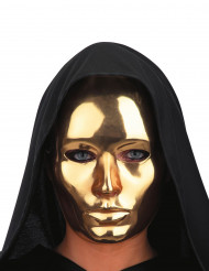 Gyllene maskeradmask för vuxna vuxen