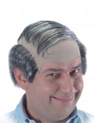 Peruk skallig man
