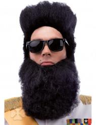 Svart skägg vuxen