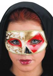 Venetiansk mask röd
