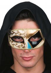 Venetiansk mask svart