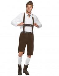 Folkdräkt med bayersk inspiration herrar