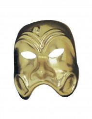 Guldfärgad mask för vuxna