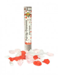 Konfetti kanon fylld med rosblad