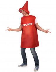Ketchupflaskedräkt vuxna