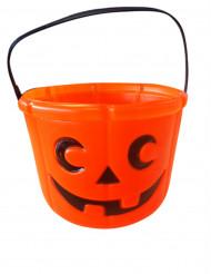 Pumpa hink för Halloween