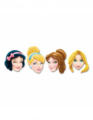 Set med 4 pappmasker Disney Princess™