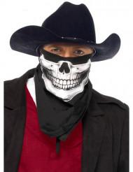 Skelettets bandana - Maskeradtillbehör