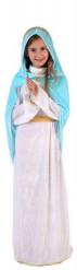 Maria-dräkt för barn till julspelet