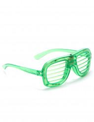 Gröna LED glasögon