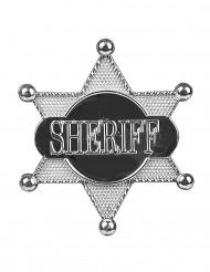 Sheriffsbricka - stjärnformad