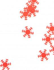 Röda snöflingor 45 g Jul