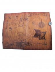 Pirat skatt karta