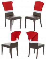 4 tomteluvor för stolar
