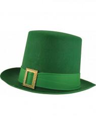 Grön St Patriks hatt