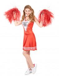 Cheerleader - Maskeradkläder för vuxna