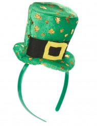 Diadem med mini-hatt