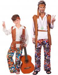Roligt Hippie-Par Barn & Vuxen