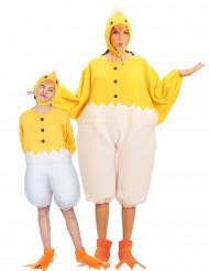 Kycklingar pardräkt mor & barn