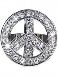 Glittrig hippie ring vuxen