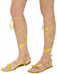 Guld sandaler vuxen