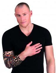 Skelett tatuering