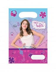 6 Presentpåsar Violetta ™