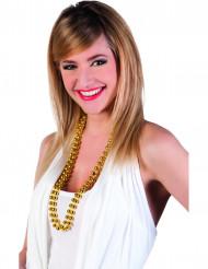 Guld pärlhalsband