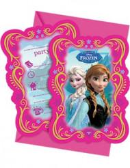 6 inbjudningskort Frost™