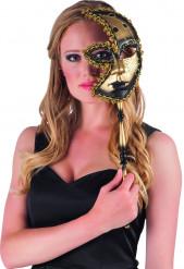 Venetiansk halvmask
