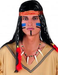 Vildtant - Indianhalsband till maskeraden