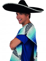 Svart sombrero vuxen