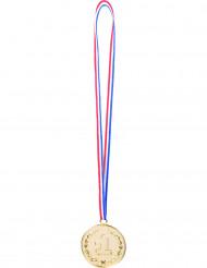 3 medaljer första plats