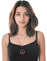 flerfärgatt  hippiehalsband