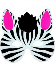 Zebramask för barn
