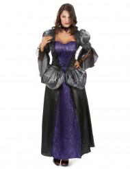 Kunglig Vampyr - Maskeraddräkt för vuxna till Halloween
