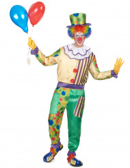 Crafty - Clowndräkt för vuxna
