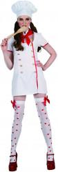Mästerkock i klänning - Maskeraddräkt för vuxna