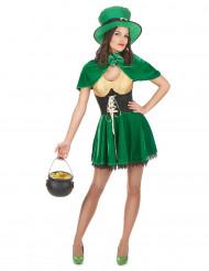 Leprechaun St Patrick - utklädnad vuxen
