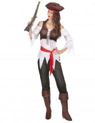 Skräckinjagande Jane - Piratkläder för vuxna