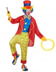 Bozo - Clowndräkt för vuxna