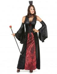 Drottning av natten - Vampyrdräkt för vuxen till Halloween