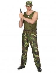 Militärdräkt Man