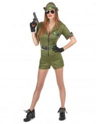 Bring it - Militärdräkt för vuxna till maskeraden