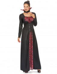 Elegant Vampyr - Halloweenkostym för vuxna