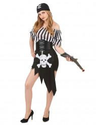 Dynamit Donna - Piratkläder för vuxna 5a23c83929e82