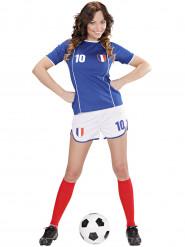 Maskeraddräkt fotbollsspelare Frankrike dam