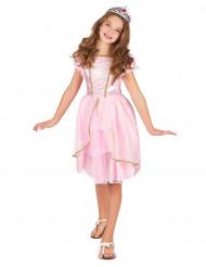 Rosa prinsessdräkt barn