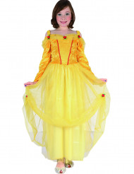 Gula Prinsessan - Maskeradklänning för barn