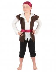 Piratdräkt till maskeraden för barn